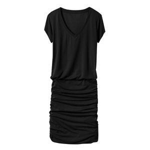 Athleta 'Topanga' V-Neck Ruched T-Shirt Dress Sm